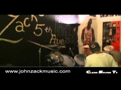 In A Gadda Da Vida drum solo by John Zack – ZuzzNetworks