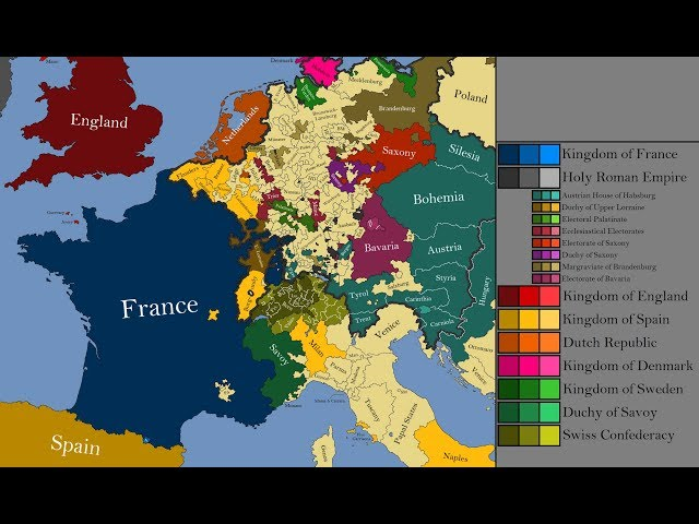 The History of Western Europe Every Year