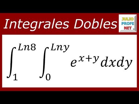 INTEGRALES DOBLES - Ejercicio 2