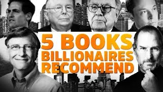 Best Self Help Books. Recommended by Billionaires.