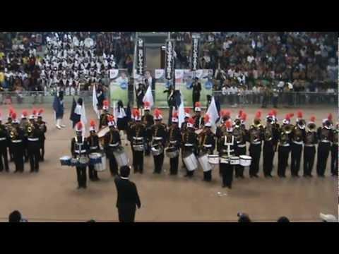 Banda del Colegio Adventista de Bolivia-Concurso Nacional de bandas Adventistas 2012.MPG