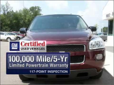 2008 Chevrolet Uplander - Highland Mi