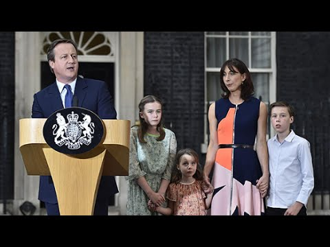 Watch David Cameron's final speech as Prime Minister in full