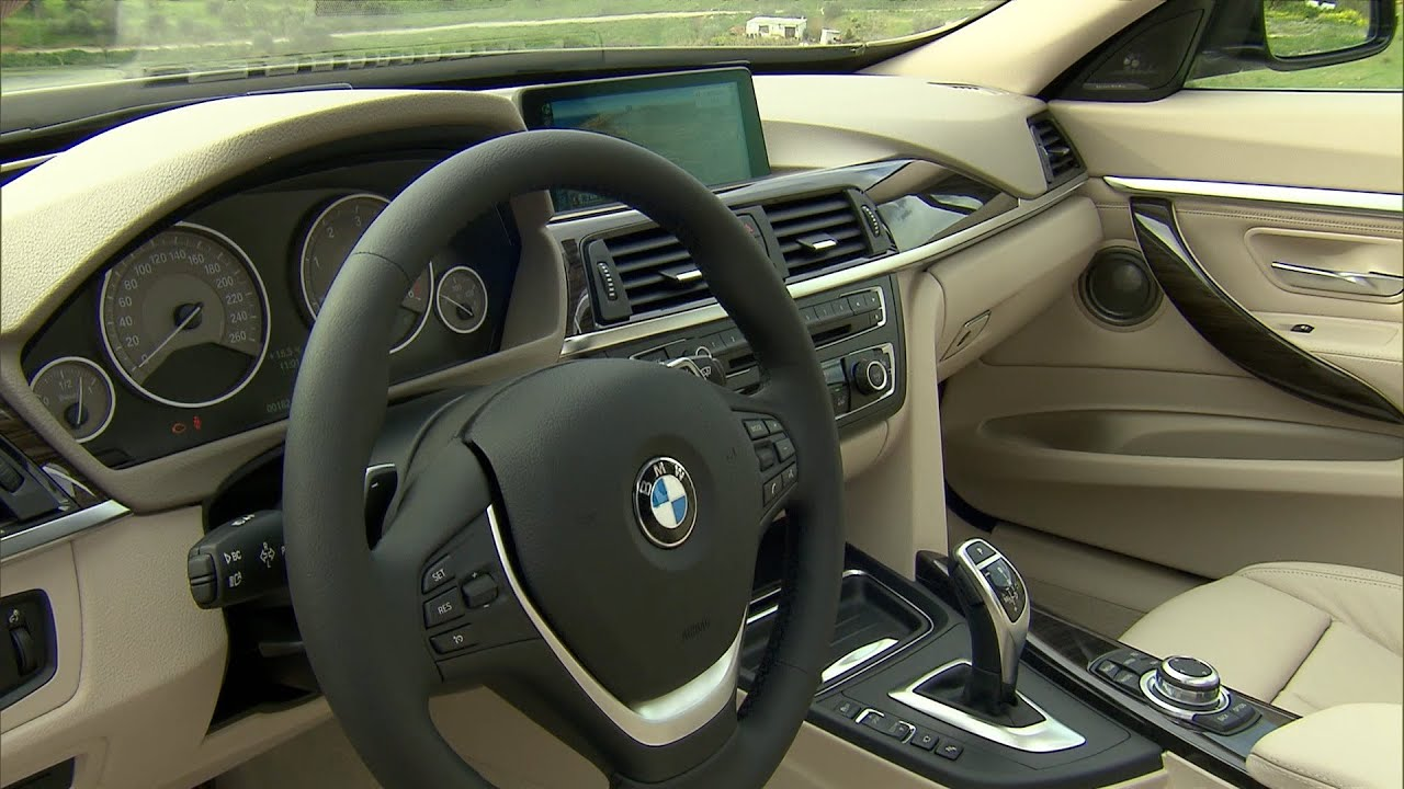 BMW 3 Series GT - INTERIOR - YouTube