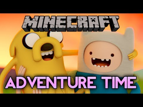 Minecraft: ADVENTURE TIME MOD! - Finn, Jake and My Bearded Sick Butt
