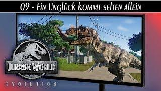 Jurassic World Evolution deutsch 🦖 #09 Ein Unglück kommt selten allein | Gameplay deutsch german