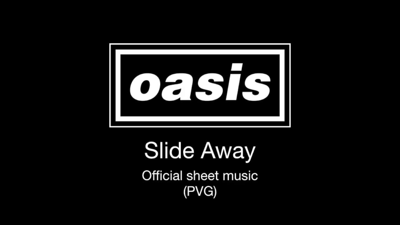 """Oasis - 楽譜が掲載された""""Slide Away""""のOfficial Sheet Musicを公開 カバー企画「#SlideAwayChallenge」開催中 thm Music info Clip"""