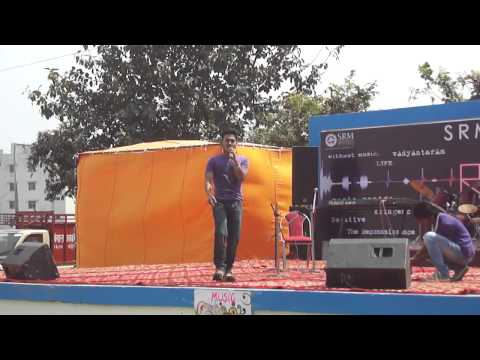 SRM RUBAROO 2k14 | music mantra |performing blue eyes