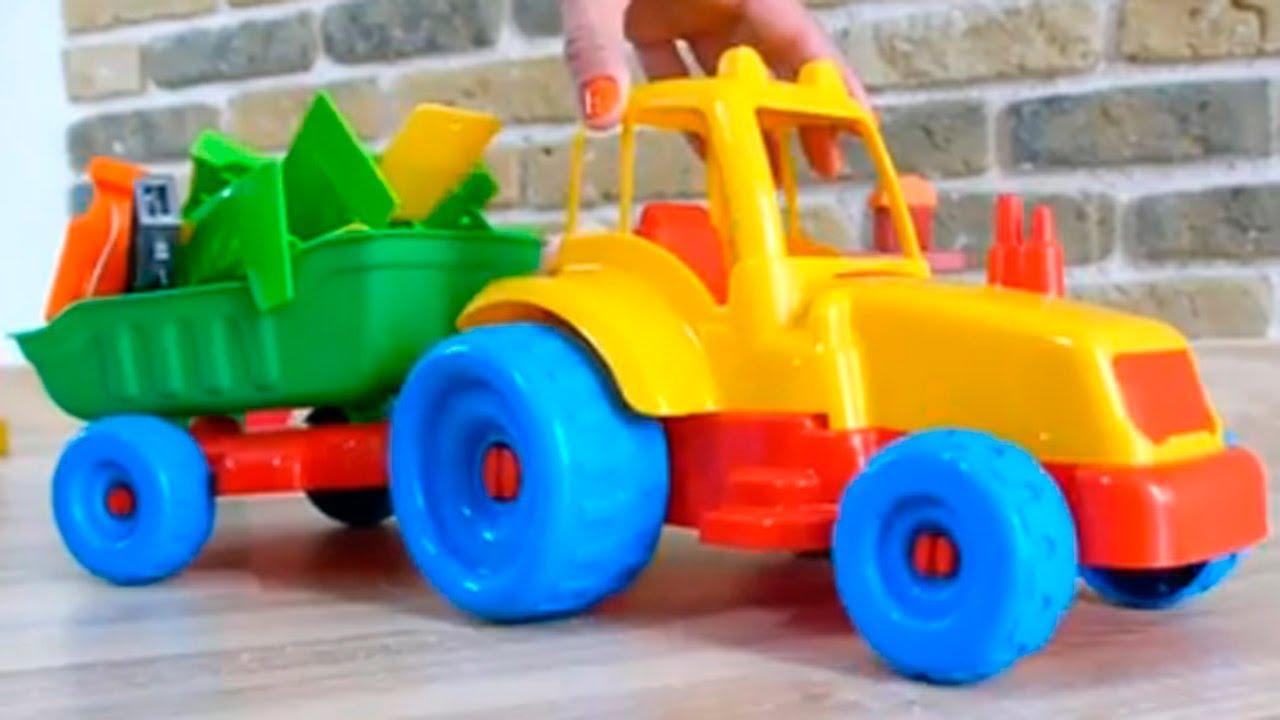Les jouets du petit monde tv voiture et tracteur dessin anim en fran ais youtube - Tom le tracteur dessin anime ...