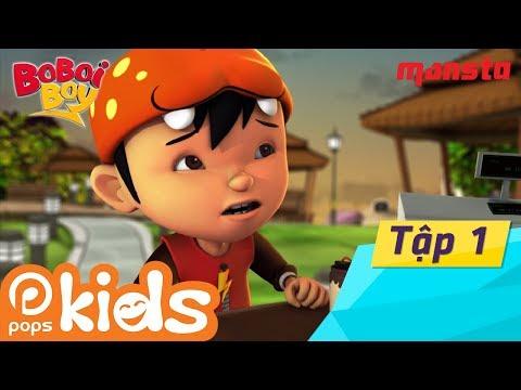 Boboiboy Tập 1: Anh Hùng Xuất Hiện - Phim Thiếu Nhi Hay Tiếng Việt | Hoạt Hình POPS Kids thumbnail