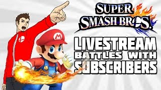 Super Smash Bros For 3DS: Livestream Battles With Subscribers! [10/20/14 at 7:00pm CDT]