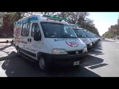 20 ambulancias nuevas
