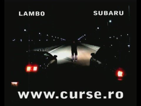 Lamburghini vs Subaru Video
