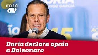 Doria exalta 'guerreiro' Alckmin e declara apoio a Bolsonaro: 'PT não!'