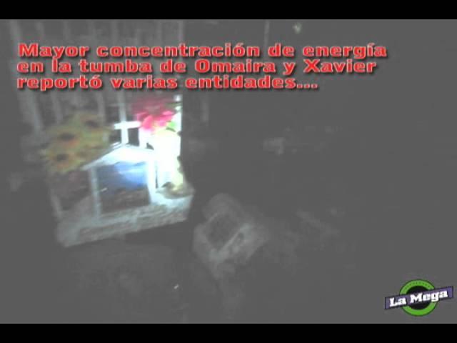 Crónica Cartel Paranormal en Armero: Tumba de Omaira de noche