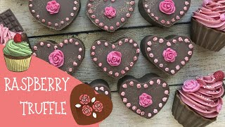 Making of Raspberry Truffle Cold Process Soap | ❤️ GYPSYFAE CREATIONS