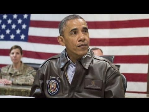 Obama spends Memorial Day in Afghanistan, Arlington