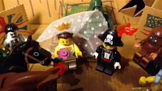 Coverage of the Lego Royal Wedding sponsored by Domino's Pizza