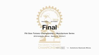 Gran Turismo™SPORT FIA GT Manufacturer Series Off-Season Exhibition Season 3 Round 5 Onboard