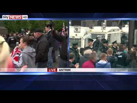 Protests As Gerry Adams Released