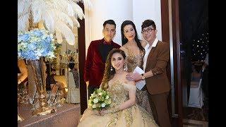 Dàn sao Việt dự đám cưới của Lâm Khánh Chi tại Sài Gòn