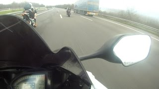CBR 1000 RR & ZX10R Road Race, Top Speed / Bolu Highway #turkishriders
