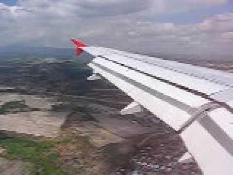 LANDING IN CLARK INTERNATIONAL AIRPORT IN MANILA - Philippines
