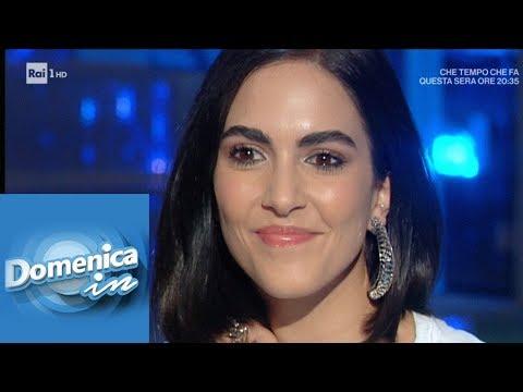 Rocío Muñoz Morales, l'amore per Raoul Bova - Domenica in 31/03/2019
