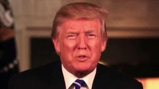 Trump sends his first Thanksgiving message as president