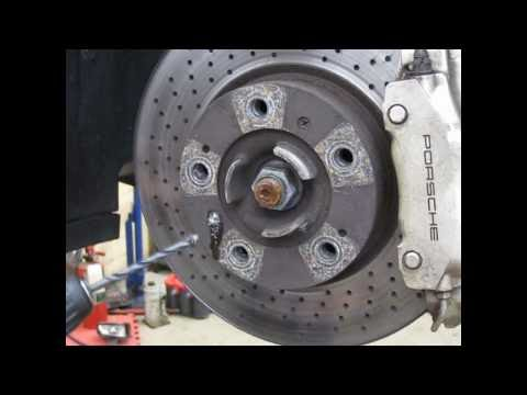 DIY - drilling out stripped brake rotor screws