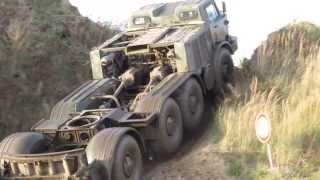 Soviet Union military power truck ZIL-135