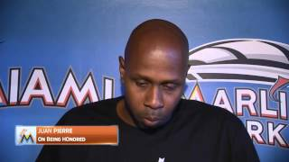 Jeff Conine on playing with Juan Pierre