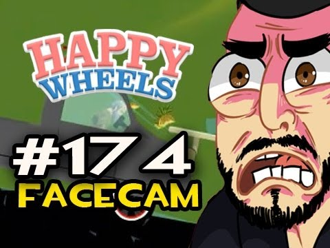 Happy Wheels w/Nova Ep.174 FACECAM - GREATEST PIZZA DELIVERY OF ALL TIME