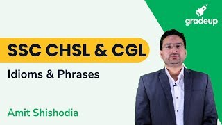 Aim SSC CHSL   Important Idioms And Phrases (Part 2)   English By Amit Shishodia