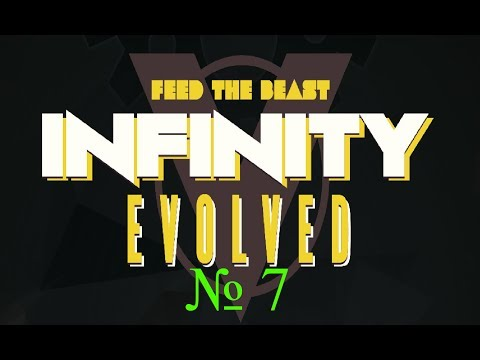 Infinity evolved expert mode - #7. Доменная печь. Немного industrial.