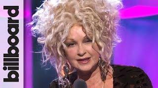 Cyndi Lauper Accepts Icon Award | Women in Music