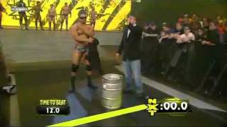WWE NXT 4/6/10 The Keg Carrying Challenge