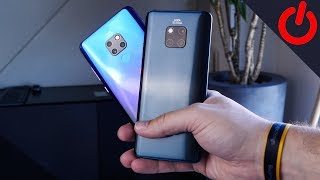 Huawei Mate 20 and Mate 20 Pro hands on and comparison