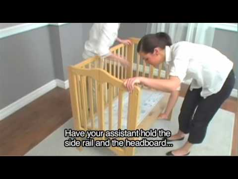 Delta Portable Crib Assembly Instructions Youtube