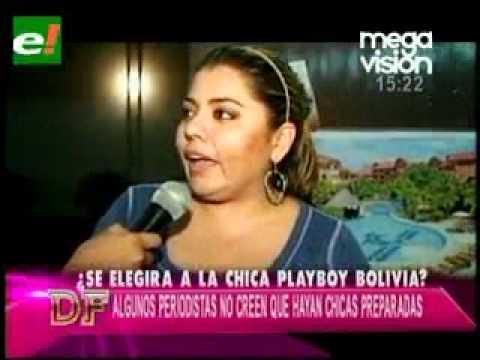 ¿Se elegirá a la chica Playboy boliviana    eju tv