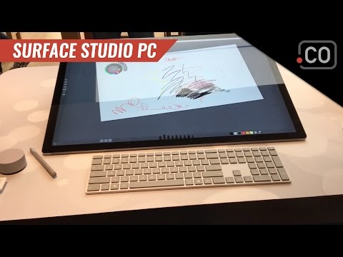Hands On Microsoft Surface Studio