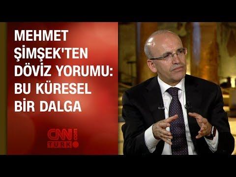 Mehmet Şimşek'ten döviz yorumu: Bu küresel bir dalga