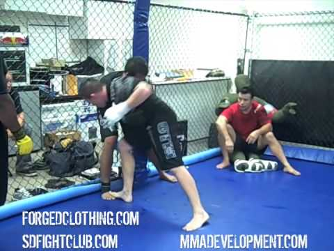 Navy SEAL vs. Force Recon Marine MMA Training Session Image 1