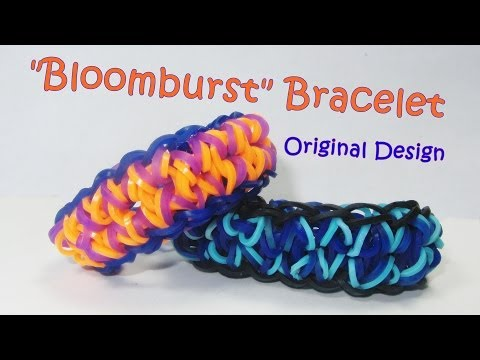 Rainbow Loom BLOOMBURST Bracelet (Posted by my 6 year old daughter)