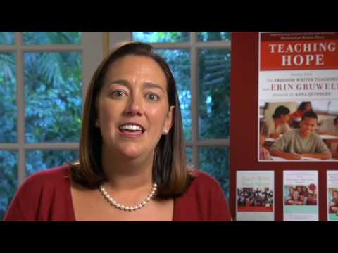 Erin Gruwell Discusses Teaching Hope