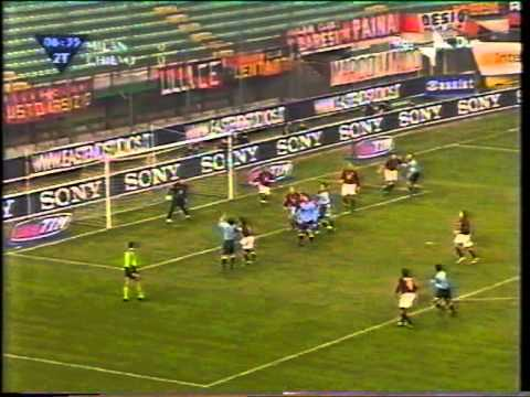 Milan – Chievo  Qdf  Coppa Italia 2002-2003  ANDATA