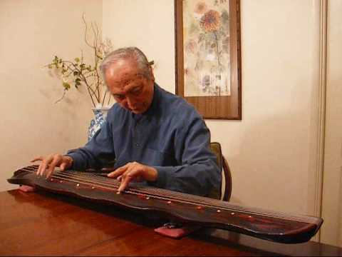 "古琴演奏家呂培原""流水""  guqin master Pui-Yuen Lui ""Flowing Waters"""