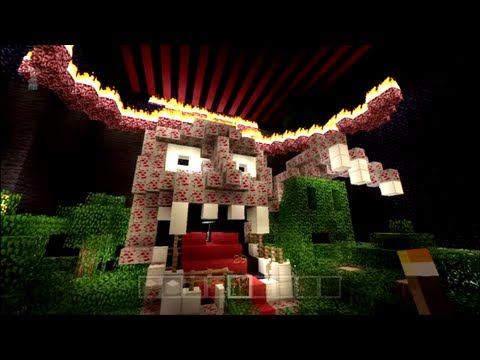Minecart of Malice Part One - Haunted Minecraft House