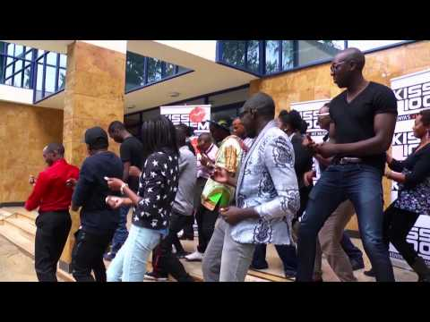 Kiss 100 Fam Dance With Sauti Sol video