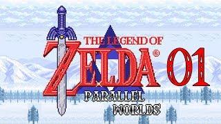 The Legend of Zelda: Parallel Worlds FR # 01 - La galère est déjà au rendez-vous!